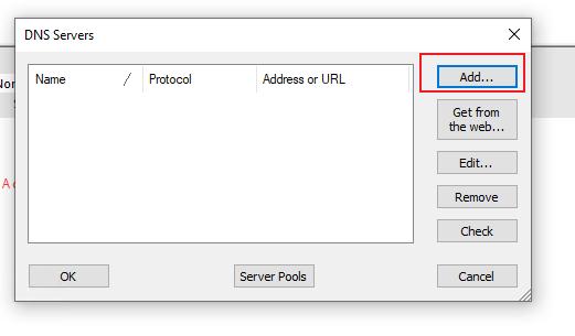 添加服务器
